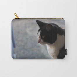 Soft Portrait of Cat Carry-All Pouch