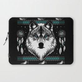 Merry Wolfmas Laptop Sleeve