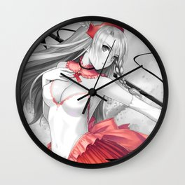 Warrior Princes Wall Clock