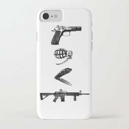 All's Fair in Love and War iPhone Case