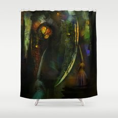 Sacrifices for Cyber Cyclops Shower Curtain
