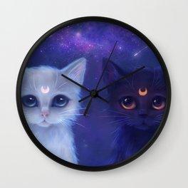 Guardian Cats Wall Clock