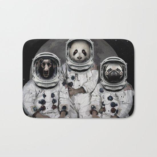 Capricorn 3 - Astronaut animal group Bath Mat