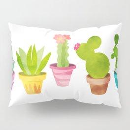 Cactus Plants In Pretty Pots Pillow Sham