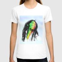 marley T-shirts featuring Marley in the Sky by Andre Ferraz digital & Fine Art