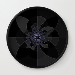Tron Kaleidoscope Wall Clock