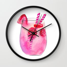 Cocktail no 2 Wall Clock