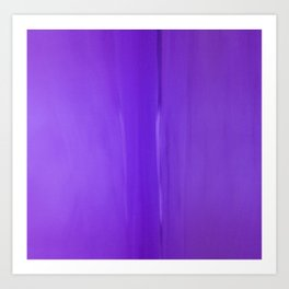 Abstract Purples Art Print