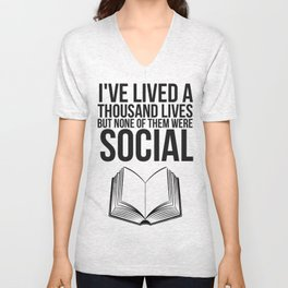 No Social Life Redo Unisex V-Neck