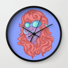 Bug Eyed Breather Wall Clock