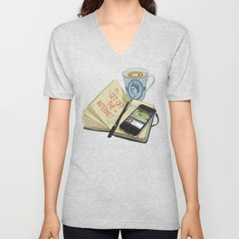 Internet Addict Unisex V-Neck