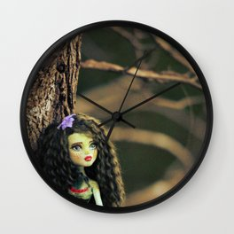 Fairy Scout in my Garden Wall Clock