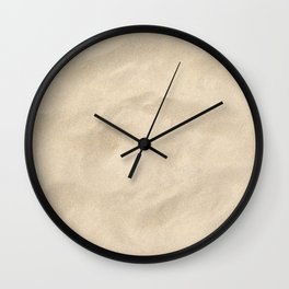 Light Brown Sand texture Wall Clock