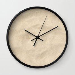 Light Brown Sand texture Wall Clock