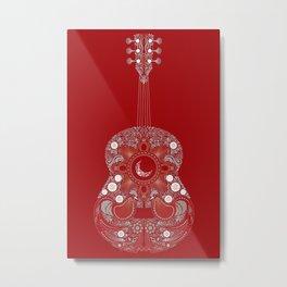 Roja es mi pasion Metal Print