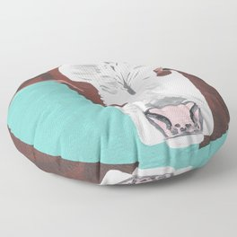 A Cow Named Adeline Floor Pillow