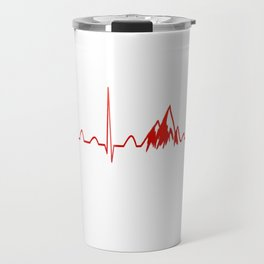 MOUNTAIN HEARTBEAT Travel Mug