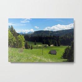 Landscape in Trentino Metal Print