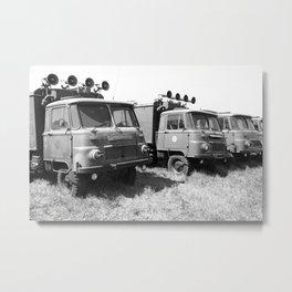 Eastern Bloc military vehicles Metal Print