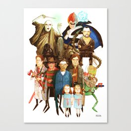The League of Absolute Evil! Canvas Print