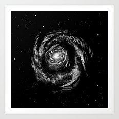 Dark Spiral Art Print