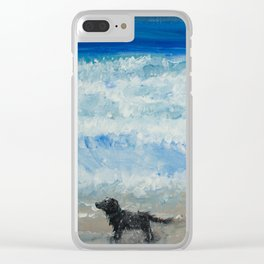 Constantine Bay, Cornwall Clear iPhone Case