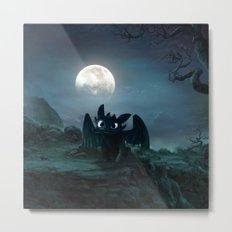 TOOTHLESS halloween Metal Print