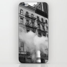 NY smoke iPhone Skin