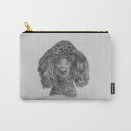 Poodle - black Carry-All Pouch
