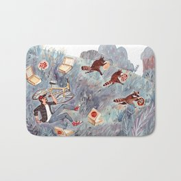 Raccoon life Bath Mat