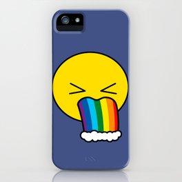 Puke Rainbow - Emoji iPhone Case