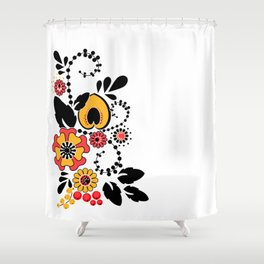 Folklore Shower Curtain