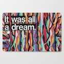 """It Was All A Dream"" Biggie Smalls Inspired Hip Hop Design by andyhendren"