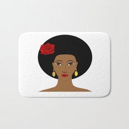 Afro Queen Bath Mat
