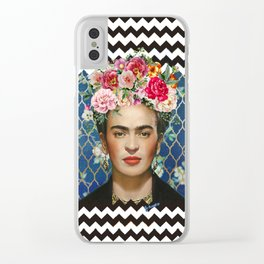 Forever Frida Clear iPhone Case