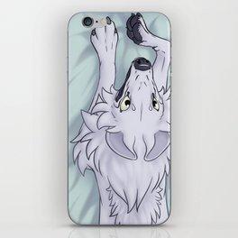 Cheeky Wolf iPhone Skin