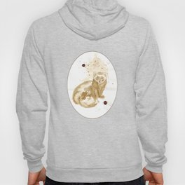 Coffee Marten Hoody
