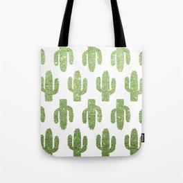 Glitter Cacti Tote Bag