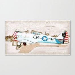 Grumman Trainer Canvas Print