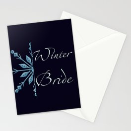 Winter Bride Stationery Cards