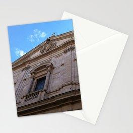 Upward Cross, Chiesa di San Luigi dei francesi Stationery Cards