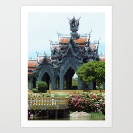 The Ancient City Art Print
