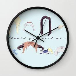 Should You Need Us 3.0 Wall Clock