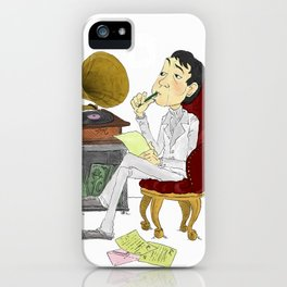 """Kisses on the Bottom"" by Virginia McCarthy iPhone Case"