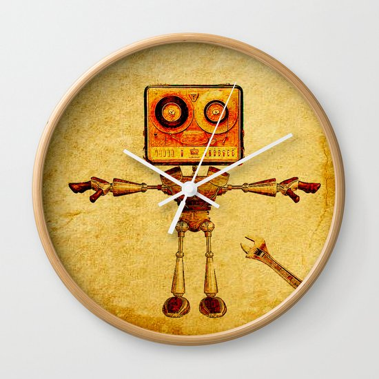 Repair of the robot Wall Clock