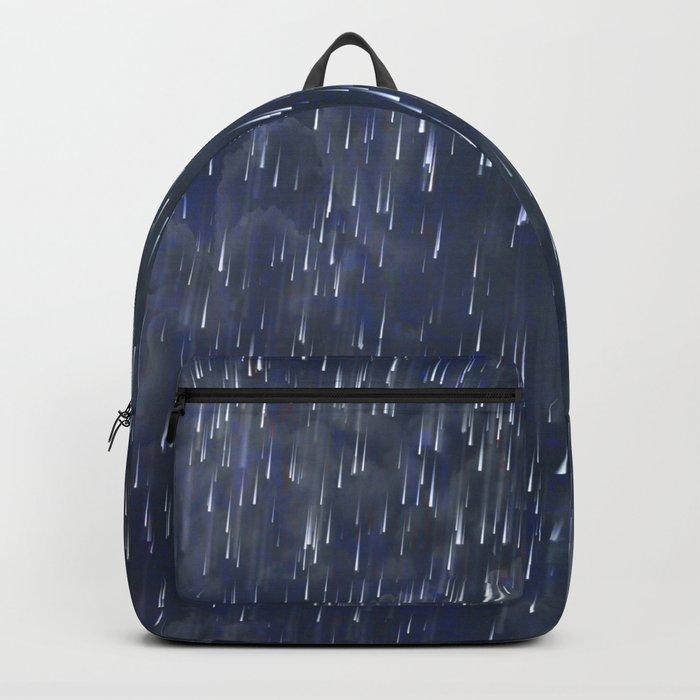 Raining Blue Backpack