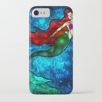mandie manzano iPhone & iPod Cases featuring The Mermaids Song by Mandie Manzano