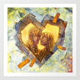 Healing Heart Art Print