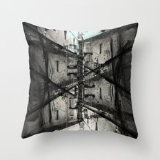 No clear ways without cleaning up after, or first. [D] Throw Pillow