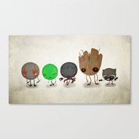 guardians Canvas Prints featuring Guardians by Mitch Made
